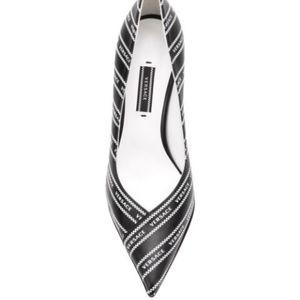 Versace Shoes - Versace 90s vintage logo pump 41 IT